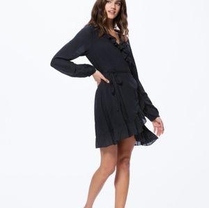 PAIGE Shawna wrap dress size L/XL